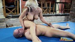Женщина и Бомж эротика секс